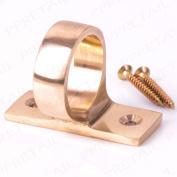 Sash Window Lift Ring Finger Pull Solid Brass Slide Handle Eyelet Open/close