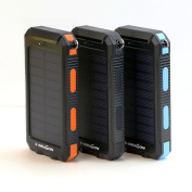 Waterproof 300000mah Portable Solar Charger Dual Usb Battery Power Bank Rt Phone