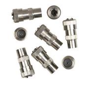 Supalec Coaxial Male Plug - Metal