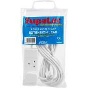 Supalec 2 Gang Extension Lead 5 Metre 13 Amp