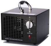 Ozone Generator Black Industrial Air Purifier Deodorizer Steriliser Eco Friendly