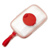 Skip Hop Grab & Go Perfect Seal Wipes Case - Red