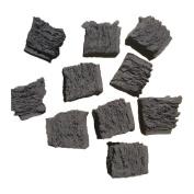 20 Gas Fire Replacement Coals Ceramic Square Coal