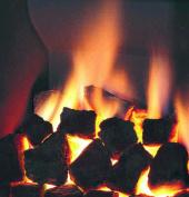 20 Gas Fire Replacement Coals Ceramic Random Shape Coal