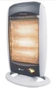 Kingavon Bb-hh201 Oscillating Halogen Heater With Remote Control