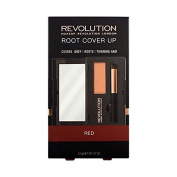 REVOLUTION ROOT COVER UP- RED- covers grey, roots and thinning hair