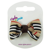 81 – 208 – Hair Clip with Bow Fabric cm 5 x 3 – Nose Hair Clips