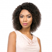 Sensationnel Brazilian Lace – Natural Jerry (Bare & Natural) – 100% Human Hair Wig 100% Human Hair Lace Wig