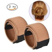 Hair Disc,Travelmall Hair Disc Bun Maker, Hair Styling Disc Donut ,3Pcs,