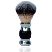 JDK Makeup JDK Luxury Synthetic Brush, Heavy Stainless Steel Base with Black Acrylic Handle