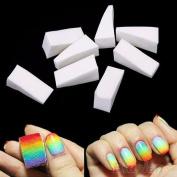 8Pcs Beauty Nail Sponges for Acrylic Manicure Gel Nail Art Care DIY UV Tool