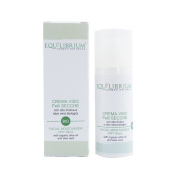 EQUILIBRIUM - COSMESI NATURALE Organic Face Cream for Dry Skin 50 ml with Organic Olive Oil and Aloe Vera