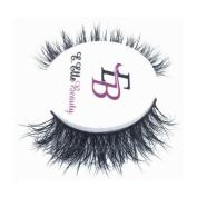 Handmade Natural 3D Mink Eyelashes Cruelty Free Long Lashes - Naomi by E-Elle Beauty