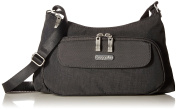 Baggallini Everyday Messenger Bag, Grey