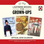 Ladybird Books For Grown-Ups Official 2018 Calendar - Square Wall Format