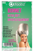 Professional Ultra Soft Styling Bonnet Dryer Hair Hood Attachment Silver