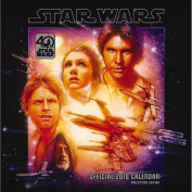 Star Wars 40th Anniversary Official 2018 Calendar - Square Wall Format