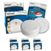 Nemaxx Wl2 Wireless Smoke Detector In Accordance With Din En 14604 And Nx1 For