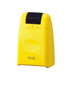 Plus Japan Guard Your Id Camouflage Roller Stamp Yellow Quick And Clean New