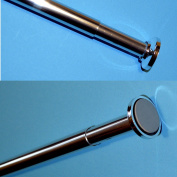 Telescopic Rail 70-120cm Shower Curtain Curtain Pole No Tools Required
