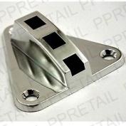 Chromed Plastic No Rust Shower Spigot Handset Bracket 60mm Rod Rail Holder New