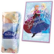 Disney Frozen Fleece Blanket Graceful & Gorgeous Kids Throw Elsa Anna Official