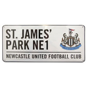 Newcastle United Fc Official Metal Stadium Street Sign