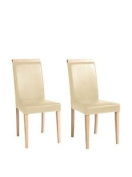 13 Home Set Chair 2 Uds. Madrid 1 Beige/natural