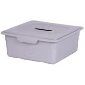 Kids Room Storage Box, Toys Storage Box, Toys Storage Unit, Grey Storage Box -