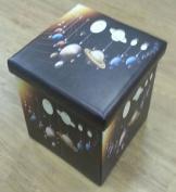 Solar System Folding Storage Box And Seat