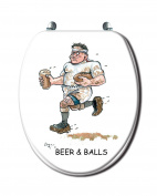 Toilet Seat - Rugby