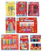 Kids Colouring Pen & Pencil Sets (activity/fun/