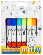 Childrens - Miffy 8 Washable Colouring Pens Markers