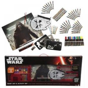Star Wars Episode 7 Giant Drawing Colouring Painting Activity Art Box Set