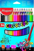 Helix Maped 36 Coloured Pencils 832017
