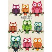 A5 Flexibound Owls Notebook (flexibound), Thank You Teacher,