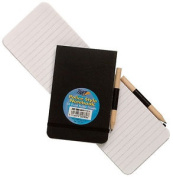 1 X Tiger Police Style Elastic Notebook Notepad 96 Sheets & Pencil