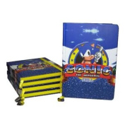 Official Sonic The Hedgehog Game Logo A5 Notebook School Stationery Journal