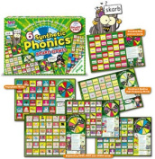 Letters And Sounds Phase 4 Board Games - 6 Games - Synthetic Phonics Teaching