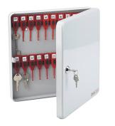 Avery Mk30lgry Master Key Cabinet For 30 Keys, 278 X 278 X 43 Mm - Light Grey