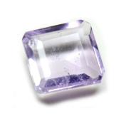 CaratYogi Natural Square Amethyst Gemstone 3 Carat Genuine Loose For Jewellery making AAA Quality