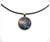 Milky Way jewellery Astronomy necklace Galaxy pendant