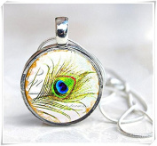 Peacock Feather Jewellery Necklace