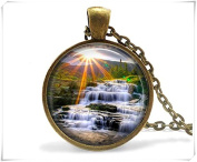 Waterfall Mountain Necklace