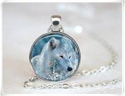 Wolf Necklace Tree Necklace Animal Necklace