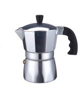 Borella casalighi Trend Cafetiere, 6 Cup, Aluminium, Grey