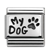 Nomination 330102/35 Unisex Charm 925 Sterling Silver