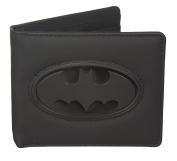 BB Designs Europe Limited Unisex-Adult Beyond Range Pu Wallet With Batman Embossed Logo Wallet Black
