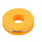 sourcingmap® Constantan 0.2mm 32 Gauge AWG 4.7 Ohms/ft Heater Wire 7.6m