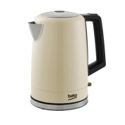 BEKO, WKM7306C Traditional Victory Kettle - Cream